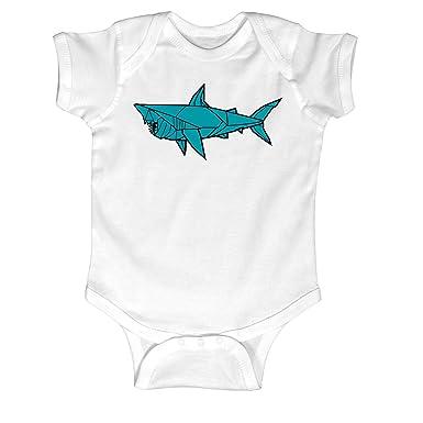 Amazon Shark Origami Infant One Piece Clothing