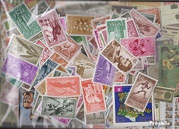 Prophila Collection España 300 Diferentes Sellos españolas Colonias con Estados Independientes (Sellos para los coleccionistas