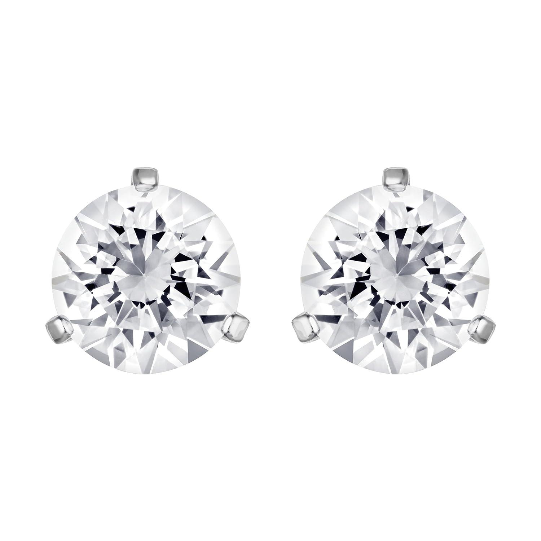 0cb0ab050c835 Swarovski Solitaire Pierced Earrings 1800046