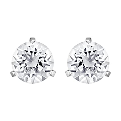 9da8c9e05 Amazon.com: Swarovski Solitaire Pierced Earrings 1800046: Swarovski: Sports  & Outdoors