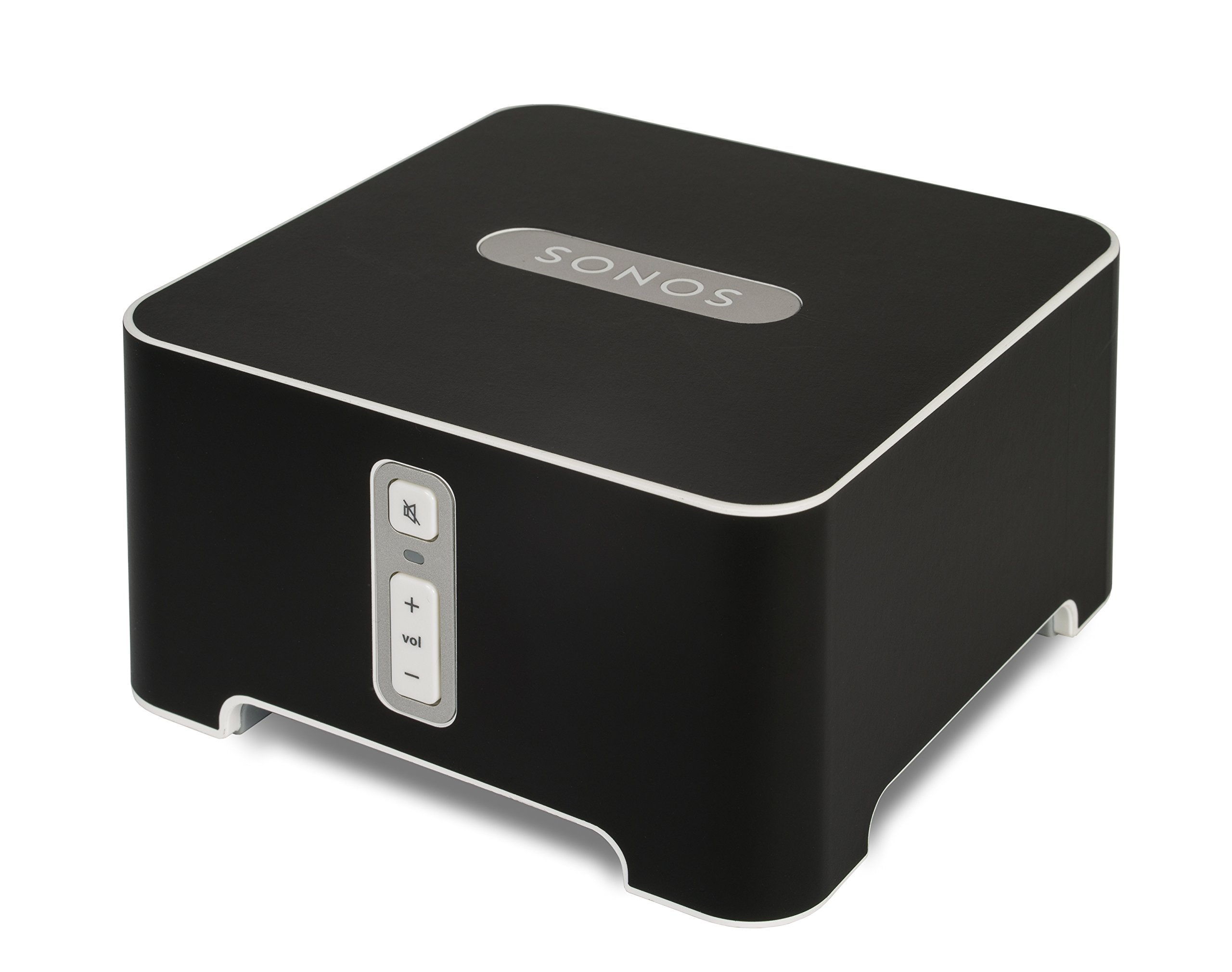 Flexson ColourPlay Skin for Sonos Connect (Black Matte) by Flexson