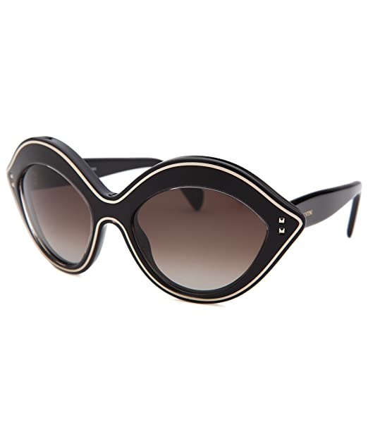 Valentino Gafas de Sol V689S (54 mm) Negro: Amazon.es: Ropa ...