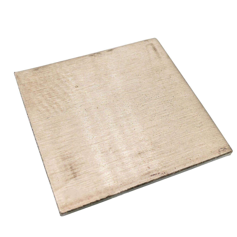 SOFIALXC Cupronickel Copper-Nickel Sheet Nickel Plate Foil 100Mm//3.93Inch X200mm//7.87Inch 2Pcs,Thickness 0.4mm
