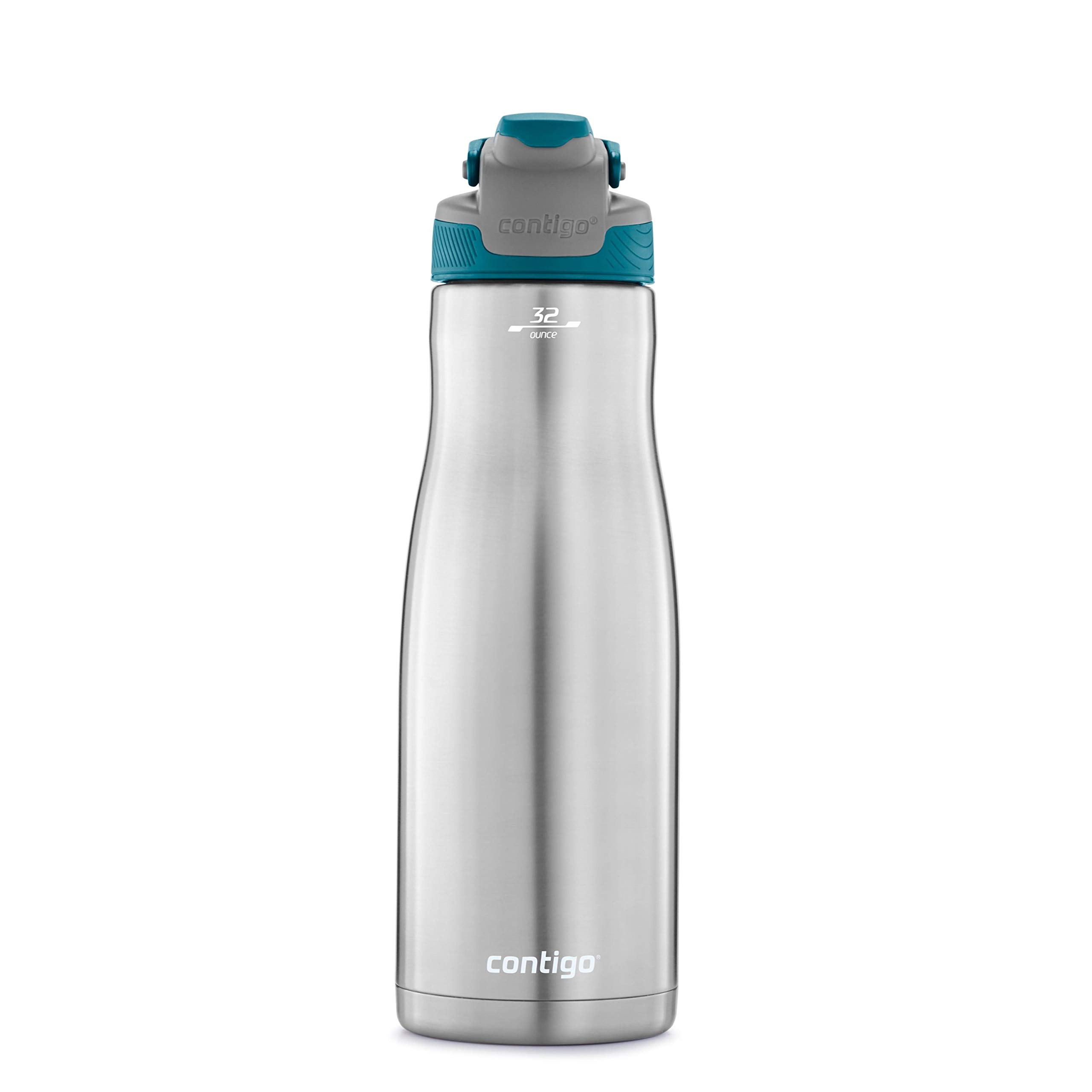 Contigo 2079447 AUTOSEAL Chill Water Bottle, 32 oz, Juniper Lid by Contigo