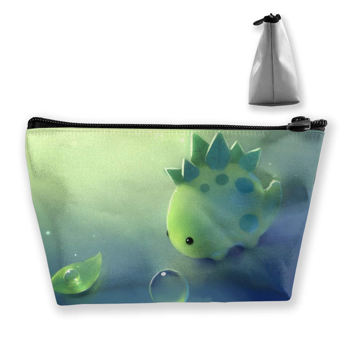 cd71cbe27113 Amazon.com: Create Magic - Cute Dinosaur Makeup Toiletry Bag Travel ...