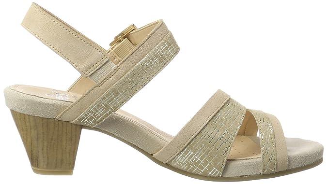Caprice Damen 28208 Offene Sandalen mit Keilabsatz: Amazon.de: Schuhe &  Handtaschen