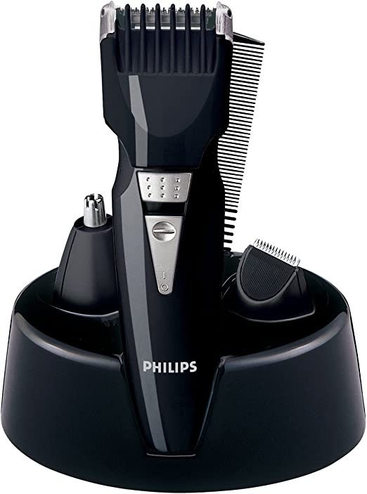 Philips MULTIGROOM Series 3000 Set de arreglo personal QG3040/10 - Afeitadora (Negro, 3,2 cm, 35 min, 10 h): Amazon.es: Hogar