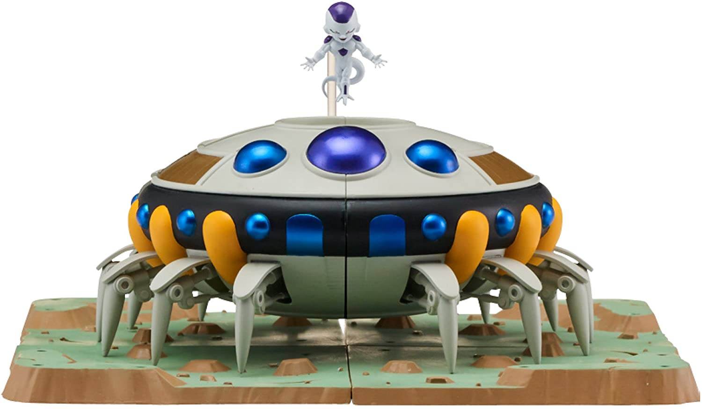 Dragon Ball Super – Dragon Stars Nano Frieza and Frieza's Spaceship Diorama Set