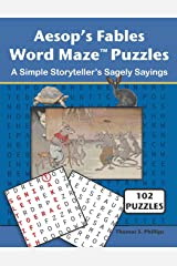 Aesop's Fables Word Maze Puzzles: A Simple Storyteller's Sagely Sayings (Word Maze Puzzle Book) Paperback