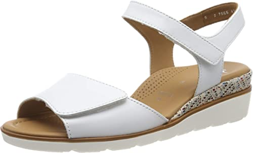 ARA Women's Lugano 1235709 Ankle Strap Sandals: Amazon.co.uk
