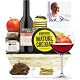 BRUTON CHEESE HAMPER & RED WINE - Traditional Cheese Gifts Luxury & Gourmet Cheese hampers by Eden4hampers