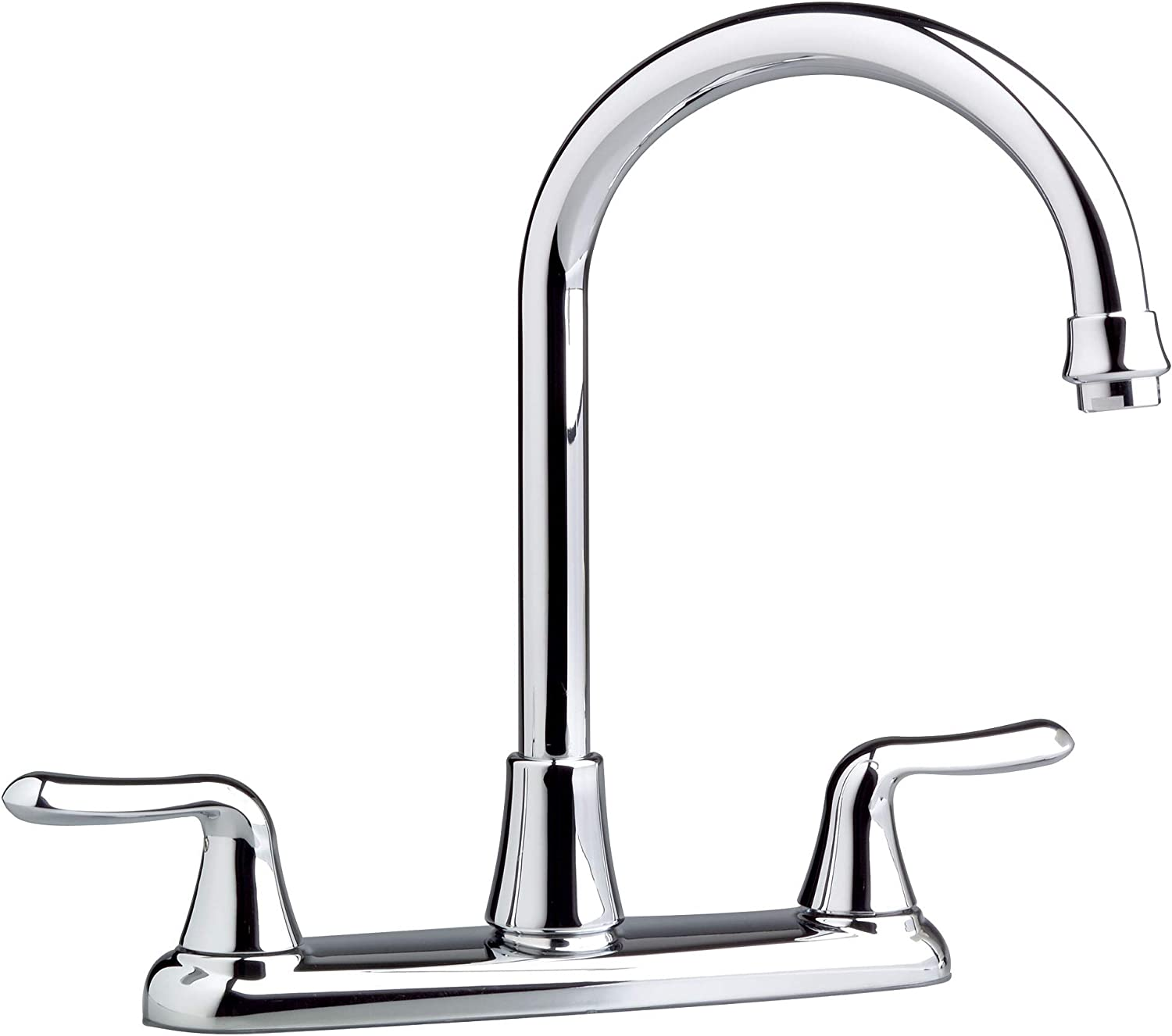 American Standard 4275.550.002 Colony Soft Polished Chrome Gooseneck Faucet without Spray