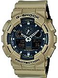 Casio G-Shock – Herren-Armbanduhr mit Analog/Digital-Display und Resin-Armband – GA-100L