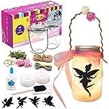 Alritz Fairy Lantern Craft Kit for Kids, DIY FairyJar Night Lights Craft Projects Party Centerpiece Birthday Gift for…