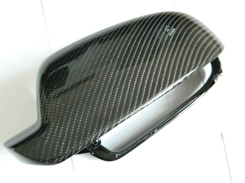 Carbon Spiegel Cover Spiegelkappen Mirror Replacements passend f/ür A4 S4 RS4 B8 8K A3 S3 RS3 8P A5 S5 RS5 B8 8T 8F Facelift