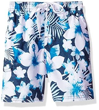 18efcd847fcad Kanu Surf Boy's Dominica Floral Quick Dry Beach Board Shorts Swim Trunks:  Amazon.co.uk: Clothing
