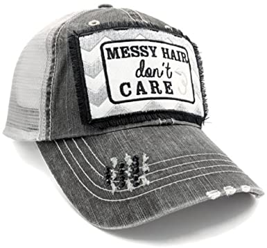 Amazon Loaded Lids Womens Bad Hair Day Messy Hair Dont Care
