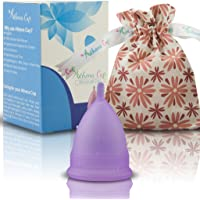 Athena Cup La Coupe Menstruelle La Plus Recommandée Comprend Un Sac Offert - Taille 1, Violet Transparent
