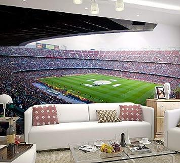 Ytdzsw Barcelona Fußballstadion Sport 3D Wandbilder Wallpaper Für ...