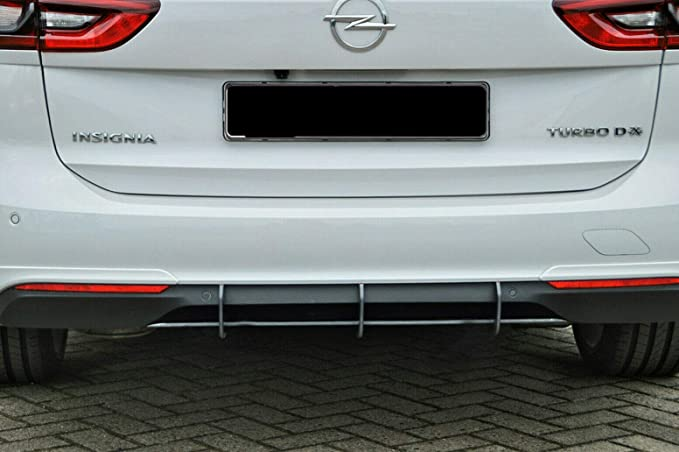 Cup Diffuser Attachment Matte Black Unpainted Compatible For Insignia B Opc Line Rear Apron Rear Diffuser Rear Splitter Abs With Abe Certified Auto