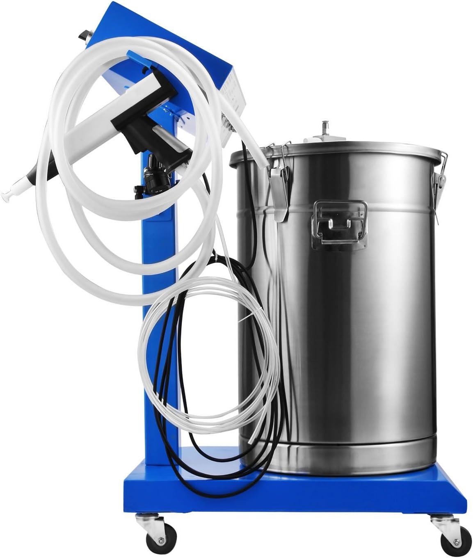 Rev/êtement Poudre Machine Olibelle Rev/êtement Poudre Machine 50W 45L Pulv/érisation De peinture 450g//min WX-958 Pistolet /à Peinture Electrique
