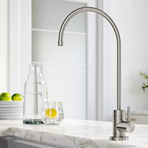 Kraus FF-100SFS Purita 100% Lead Kitchen Water Filter Faucet, Spot Free Stainless Steel