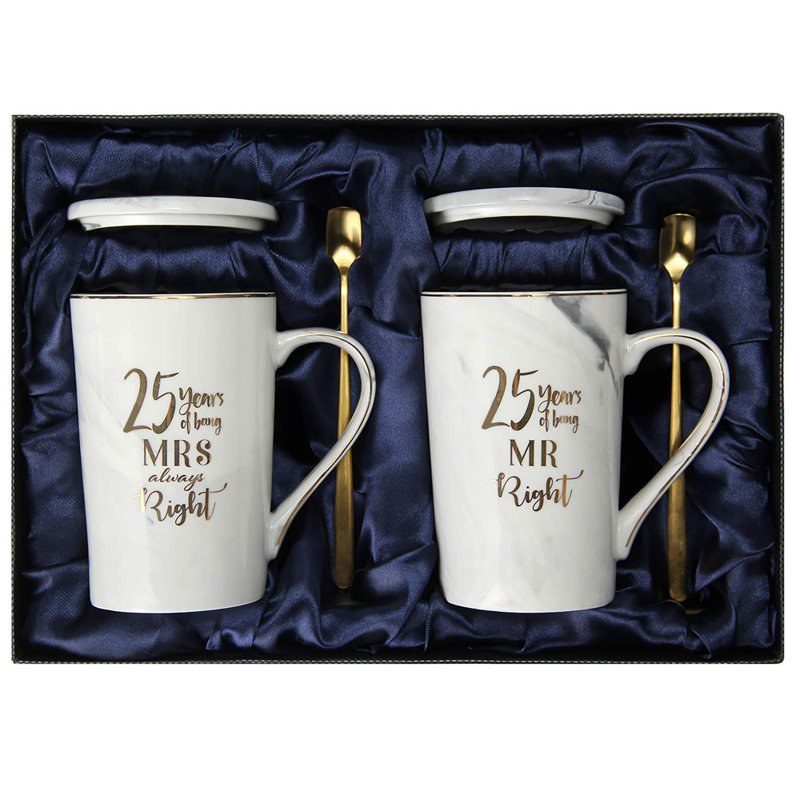 25th Wedding Anniversary Gifts , 25th Anniversary Gifts for couple, Gifts For Husband, Wife and Happy Couples for Men and Women - 25 Year Parents Anniversary Gift