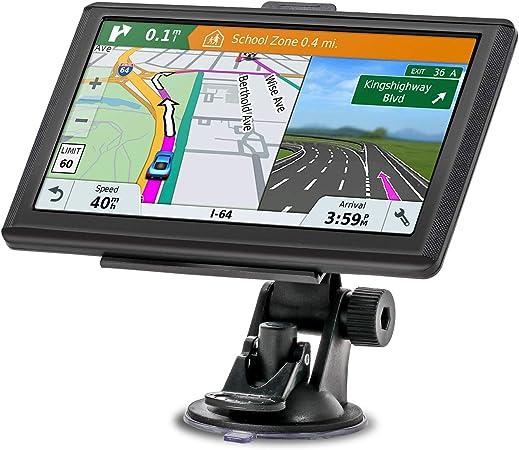 Navigationsgerät Mixmart Gps Navi Navigation 2019 7 Zoll Touchscreen Lebenslang Kostenloses Kartenupdate 128m 32gb 48 Karten Für Europa Für Auto Pkw Lkw Kfz Mehrsprachig Navigation