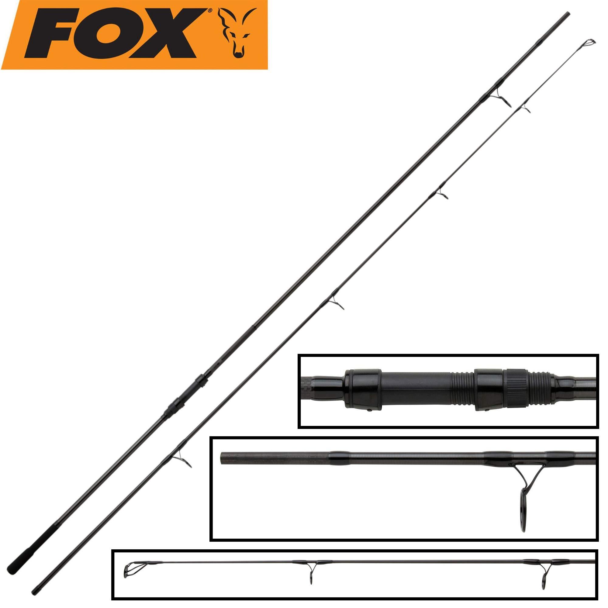 CRD255 Fox NEW EOS 13ft 3.5lb Carp Fishing 2 Piece Rod