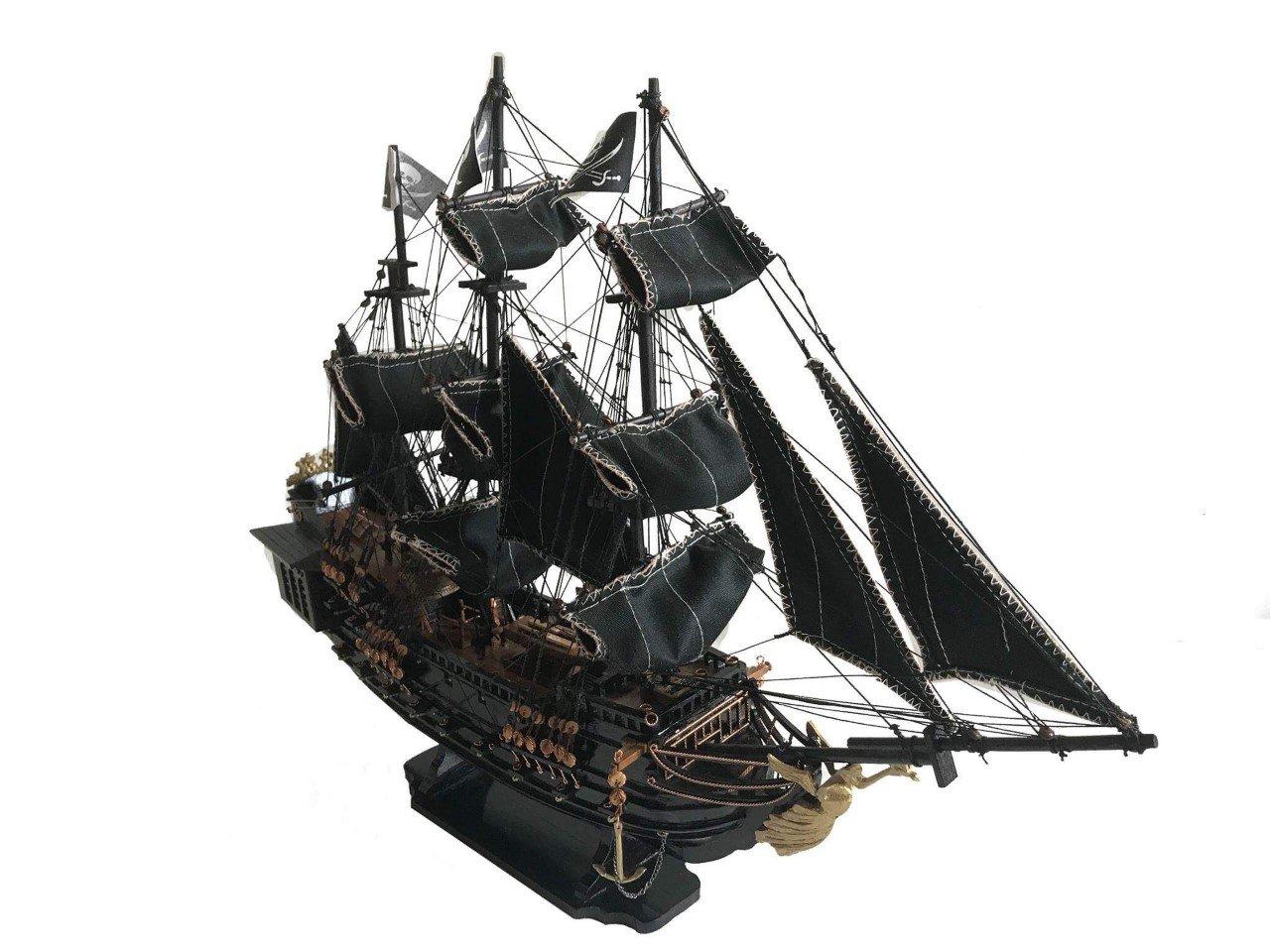 Modelo del barco la Perla Negra de Home Decor hecho a mano: Amazon.es: Hogar