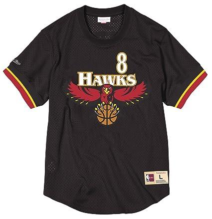 30b499244da Steve Smith Atlanta Hawks Mitchell & Ness NBA Men's Mesh Jersey Shirt