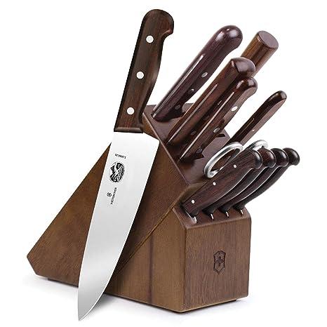 Victorinox - Juego de 12 cuchillos de palisandro: Amazon.es ...