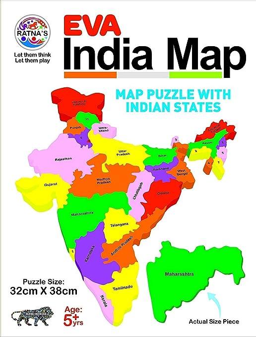 Buy NT Educational Jigsaw Puzzle Range for Kids  (EVA India MAP
