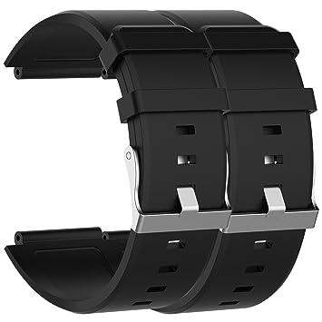 Ruentech Correa de repuesto para reloj inteligente Sony 2 SW 2 bandas ajustables y cómodas para