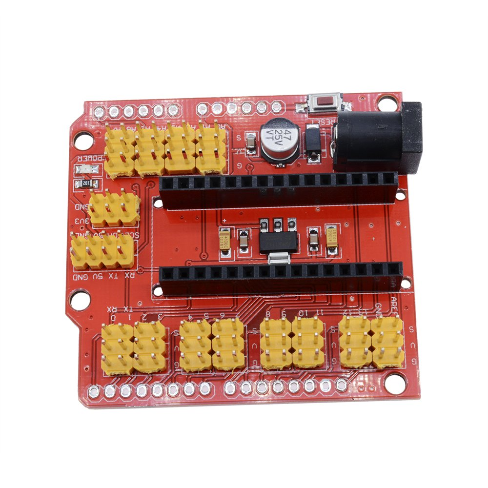 diymore Nano Expansion Prototype I/O Shield Extension Board for Arduino Nano V3.0 by diymore (Image #4)