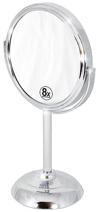 Espejo Para Maquillaje Con Aumento 8x, Decobros (xmp)