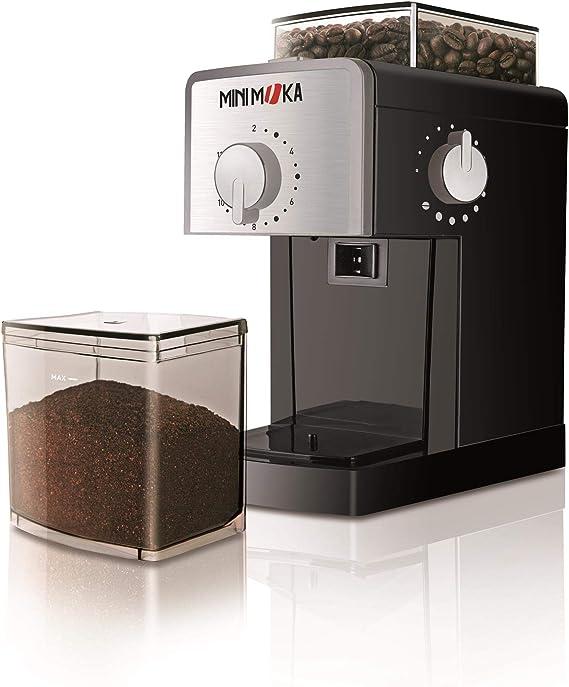 Mini Moka 999459000 Molinillos de café eléctricos con piñones: Amazon.es: Hogar