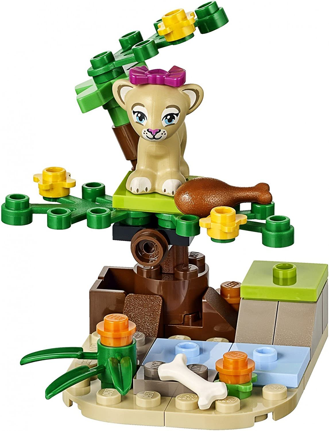 LEGO Friends Lion of The Baby and The Savannah 41048