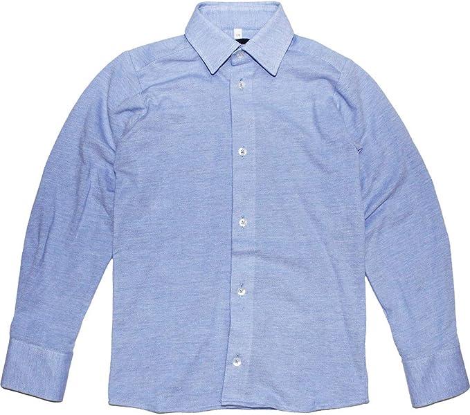 Paul Dantus - Camisa de Punto para Chico, Color Azul: Amazon.es: Ropa y accesorios