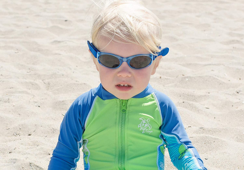 b7cab549fd4b Amazon.com  Tuga Baby Toddler UV 400 Sunglasses w  2 Straps   Case ...