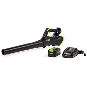 Greenworks 40V 110MPH Cordless Axial Blower, 3AH Battery and Charger Included LB-390