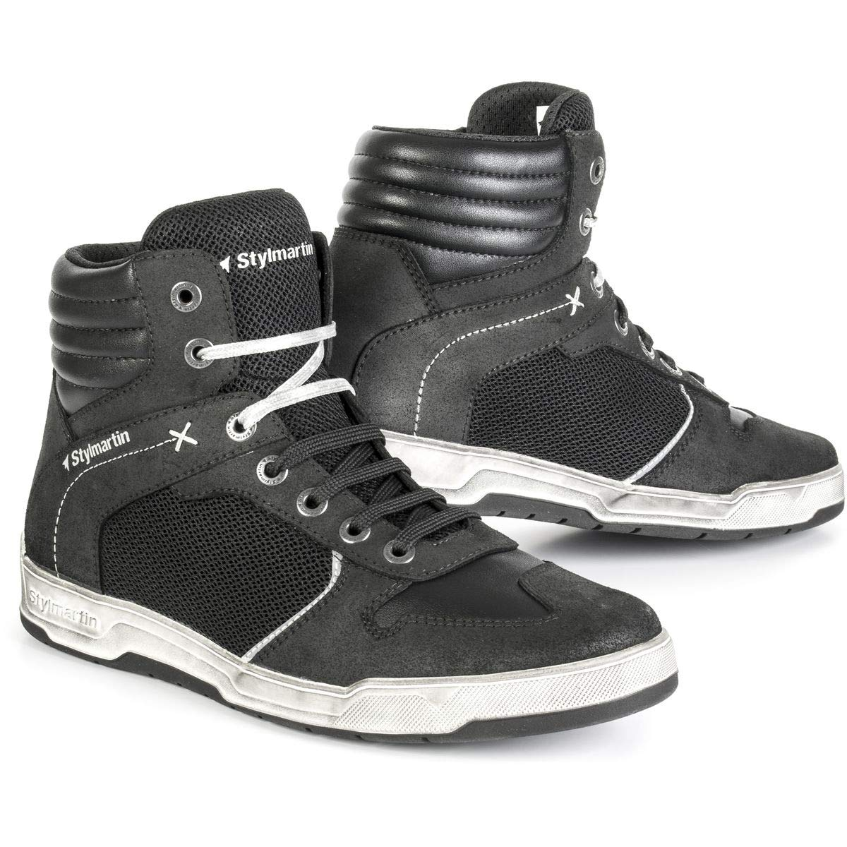 Stylmartin Adult Atom Urban Line Sneakers Black Size: US-10, EU-43