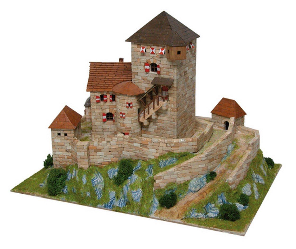 Aedes Ars ADS1054 Castello Burg BRANZOLL Italia Sec.XIII PCS 3800 Kit 1:110