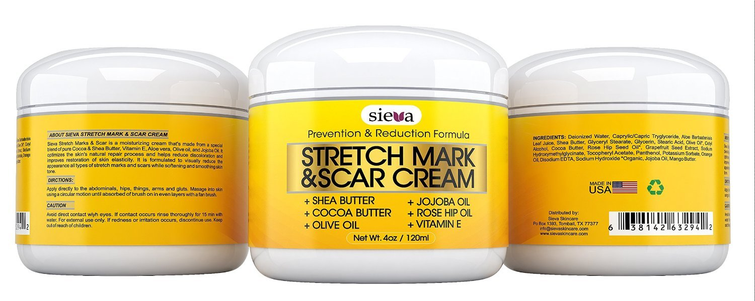 Amazon.com : Stretch Marks & Scars Cream - Best for Stretch Mark Removal -  Body Moisturizer for Prevention and Reduction of Old & New Scars - Natural  ...
