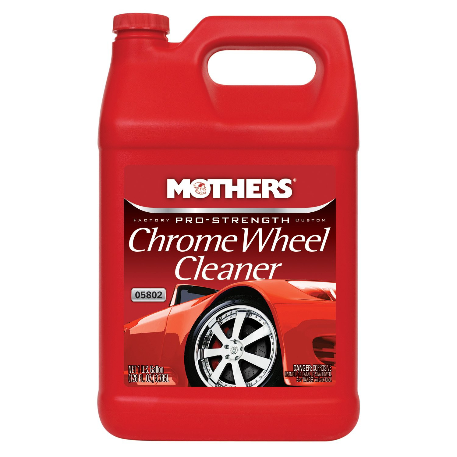 Mothers 05802 Pro-Strength Chrome Wheel Cleaner - 1 Gallon by Mothers (Image #1)
