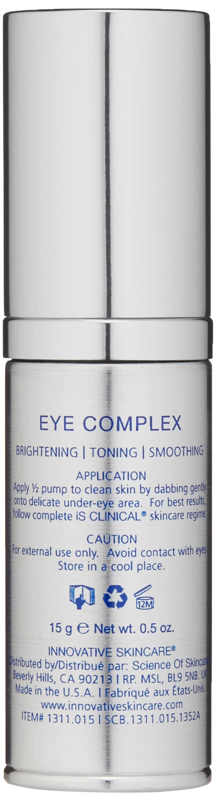 iS CLINICAL Eye Complex, 0.5 Oz by iS CLINICAL (Image #5)