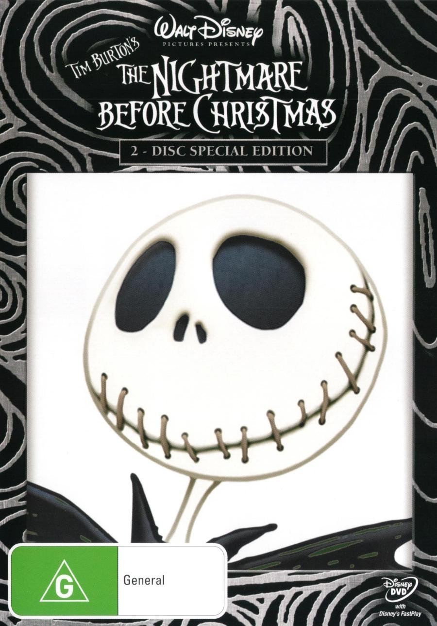 The Nightmare Before Christmas | NON-USA Format