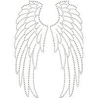 Transferencia de strass termoadhesivas de tachuelas y alas