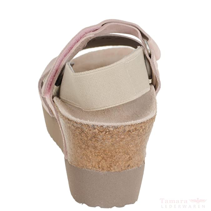 41d5c71038a690 BIRKENSTOCK Papillio Linda 1008-992 Damen Leder Sandalen Schmal Smooth  Rose  Amazon.de  Schuhe   Handtaschen