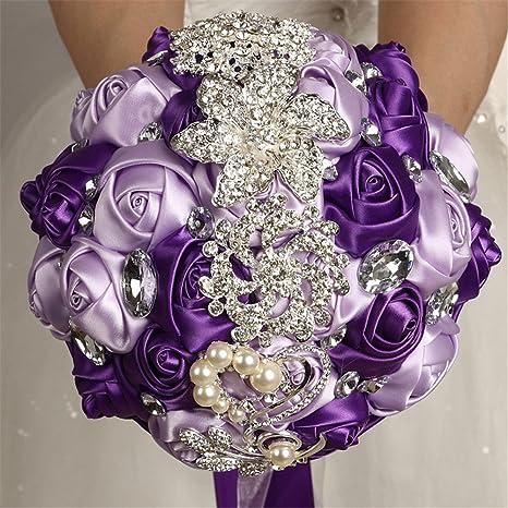Purple Bridal Bouquet Lavender Bouquet Brooch Bouquet Bridal Bouquet Bridesmaid Bouquet Wedding Bouquet Bridesmaid bouquet Keepsake Bouquet